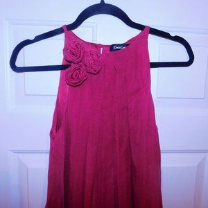 "bebe Dresses - ""BEBE"" RED SHORT BUBBLE DRESS-XS"